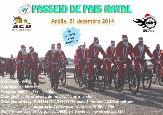 Cartaz Pais Natal 2014 horizontal